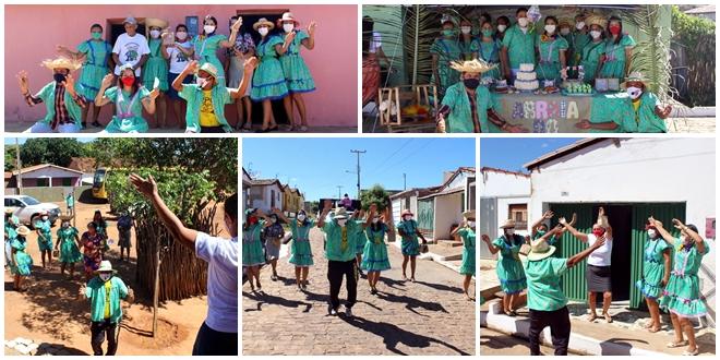 Assistência Social de Vera Mendes realiza São João Itinerante com crianças, adolescentes e idosos do SCFV