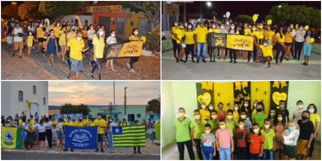 Prefeitura de Vera Mendes realiza diversas ações alusivas ao Setembro Amarelo